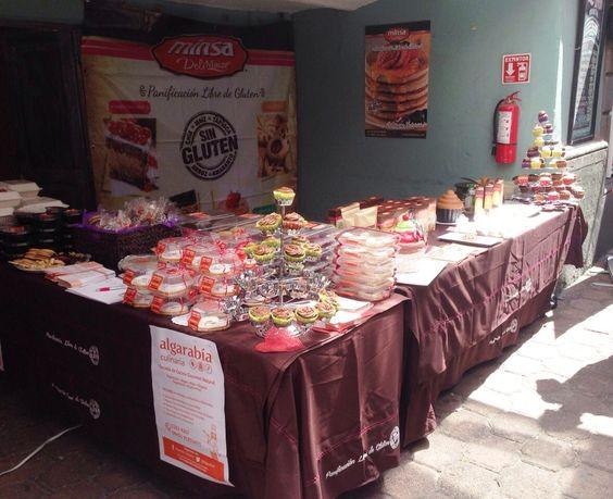 Stand Delimaize en el Bazar Gastronómico sin Gluten.