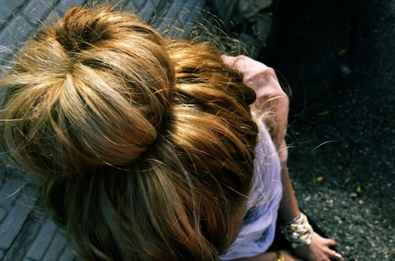DIY sock bun with video tutorial by hellogiggles.com. Cool!