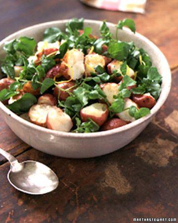 Warm Potato and Watercress Salad | Recipe | Warm, Potatoes and Salads