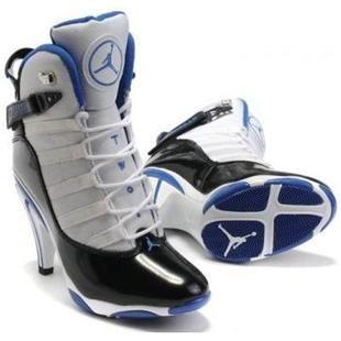 prix air max thea - Air Jordan 6 Retro Heels in White/Blue/Black | Nike Jordan 6 High ...