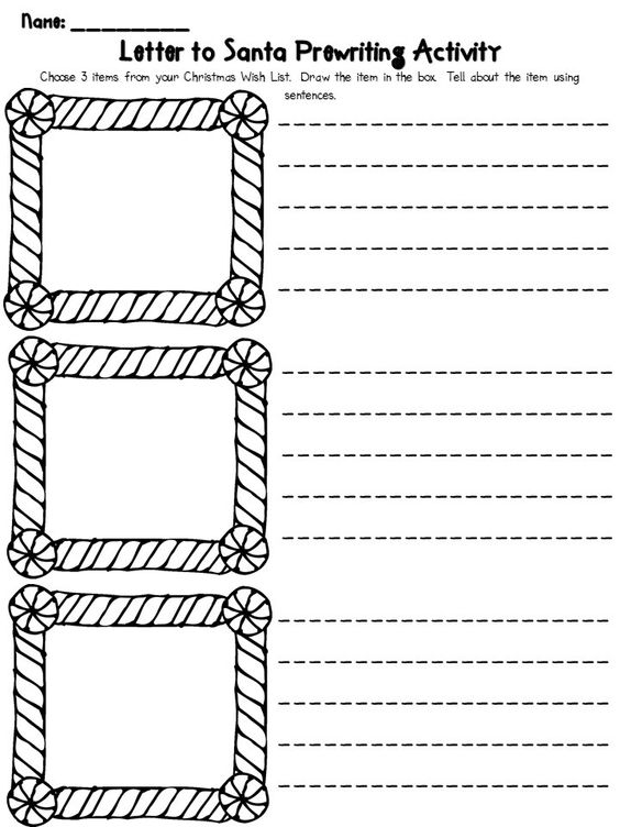 16 Free Letter To Santa Templates For Kids Literacy - encouragement letter template