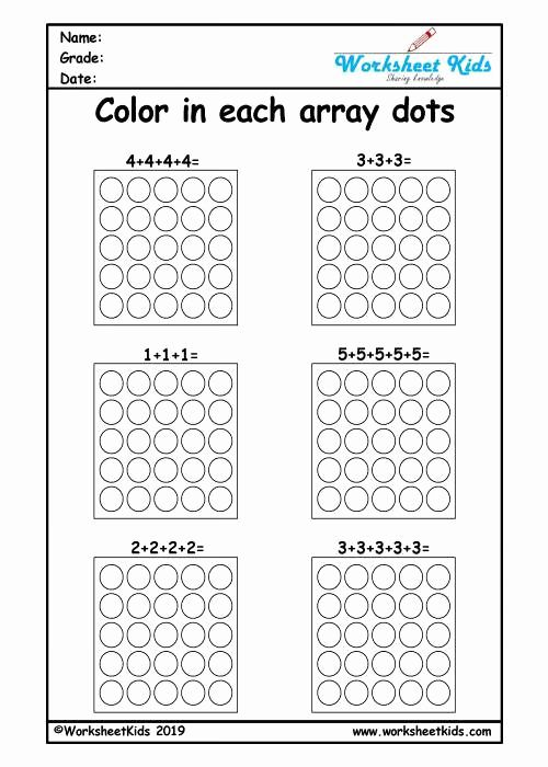 Arrays Worksheets Grade 2 Fresh Repeated Addition Arrays Activities For Year 1 2 3 Worksheets Array Worksheets Repeated Addition Worksheets Addition Worksheets Array worksheets for 2nd graders