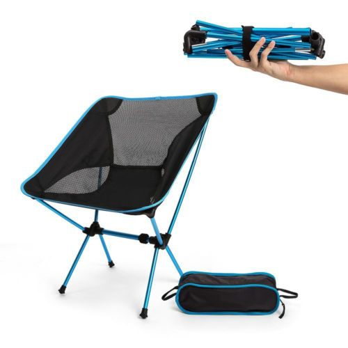 Portable Lightweight Foldable Camping Chair Picnic Beach Patio Fishing Chair