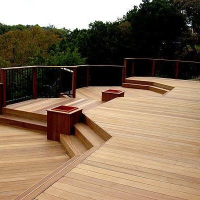 Outdoor spaces decks and outdoor on pinterest for Outdoor decking boards