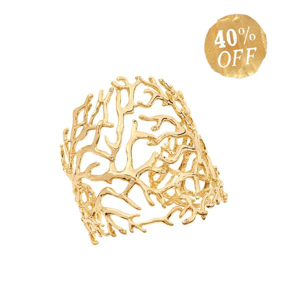 40% off Coral Branch Cuff by Chloe + Isabel- 12 days of Christmas C+I deals