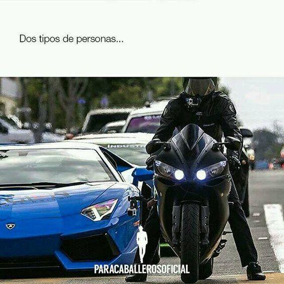 Eres más de carros o de motos?