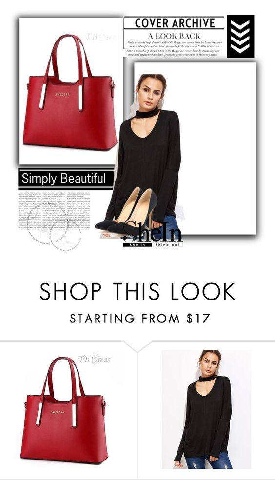 """Shein"" by loabirint-tiky ❤ liked on Polyvore"