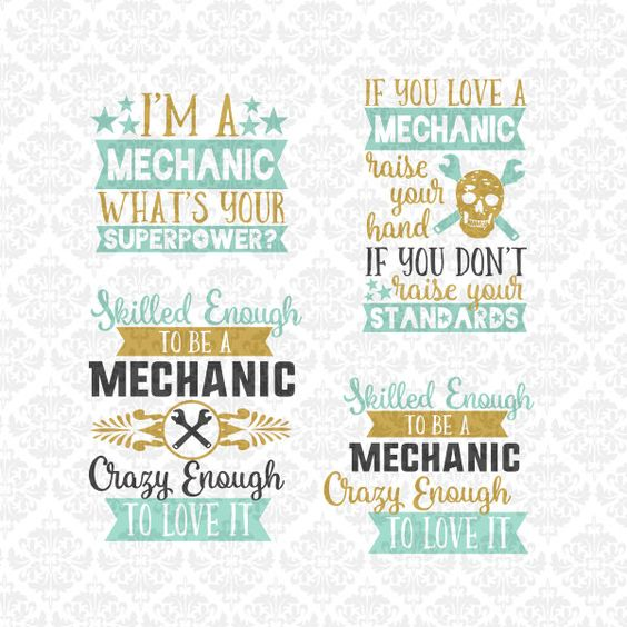 Mechanic Superpower Love Wife wrench SVG DXF STUDIO Ai Eps Scalable Vector Instant Download Commercial Use Cutting File Cricut Silhouette by CraftyLittleNodes on Etsy