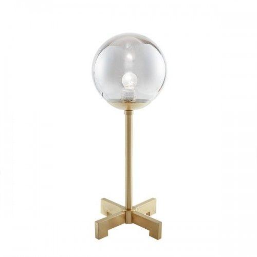 Big Idea Round Glass Bulb Table Lamp, Big Bulb Table Lamp