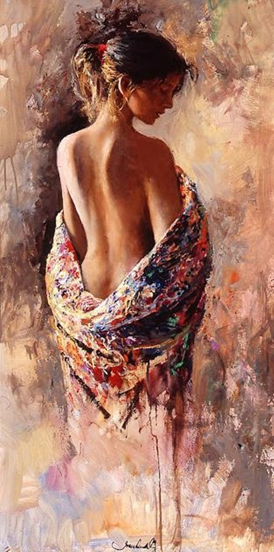 Artist Joan Marti Barcelona, Spain @@@.....http://es.pinterest.com/sandyychacon/paintings-of-spanish-women/ MASSSS: