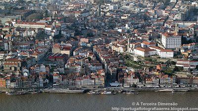 A Terceira Dimensão - Fotografia Aérea: Porto