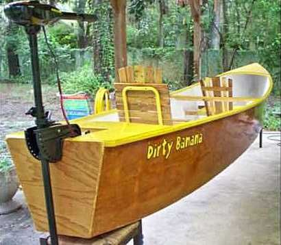 "New plywood ""Quick Canoe"" plan builds in as little as 4.5 hours (or a couple of…"