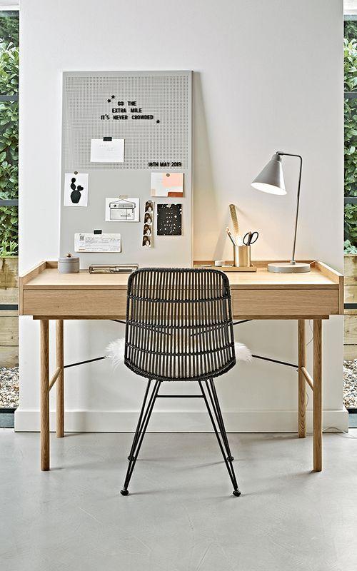 Oak Desk In 2020 Oak Desk Home Office Accessories Modern Home