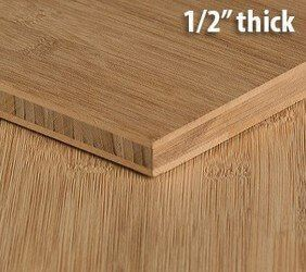 Bamboo Pywood 1 2 In Unfinished Natural Vertical Bamboo Plywood Bamboo Plywood Sheets