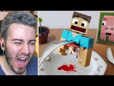 Ogle Yemeginde Minecraft Yiyen Adam Youtube 2020 Minecraft Ayi Youtube