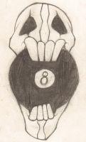 skull doodle 8 by JeffGlide