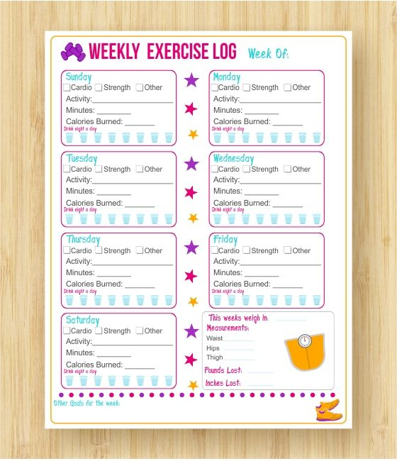 The Top  Absolute Best Fitness And Weight Loss Planners