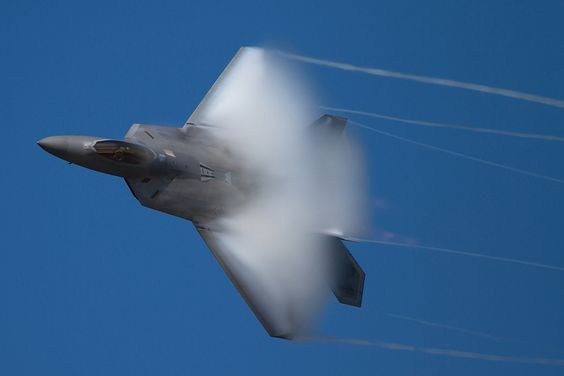 F-22-vapour. by cookyboy67