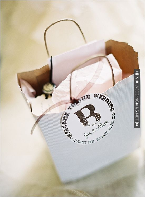 Wedding Gift Checks : Wedding gift bags, Wedding gifts and Gift bags on Pinterest