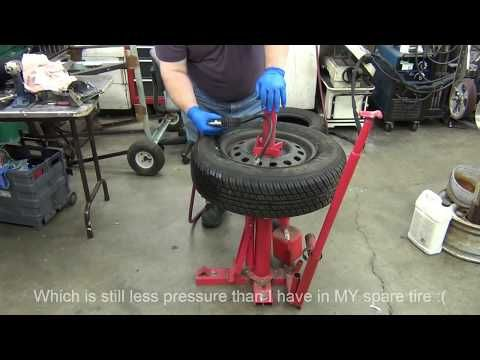 Hf Manual Tire Changer How To Use Youtube Proyectos Entretenimiento