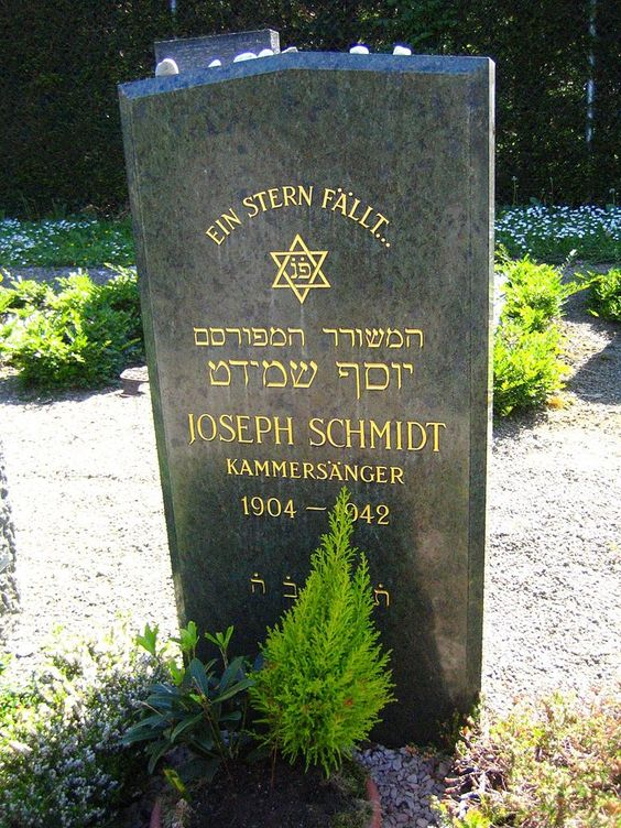 grave in Friesenberg cemetery, Switzerland: