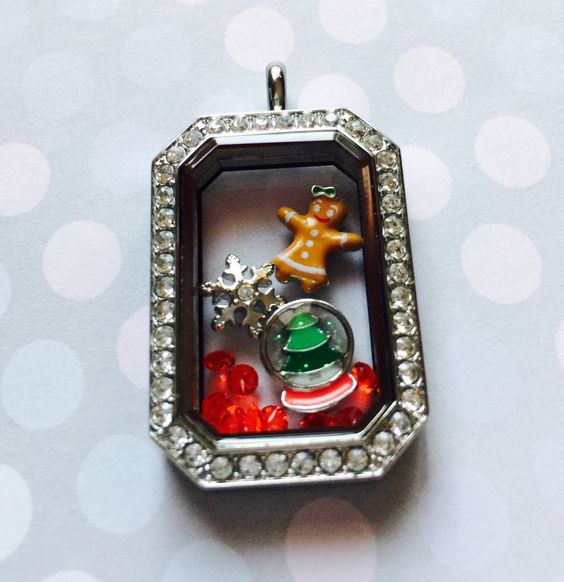 Love my new Origami Owl heritage locket and holiday charms!  www.angierhoads.origamiowl.com