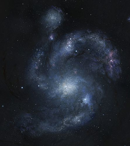 Using Hubble, Astronomers Spot Oldest Spiral Galaxy Ever Seen