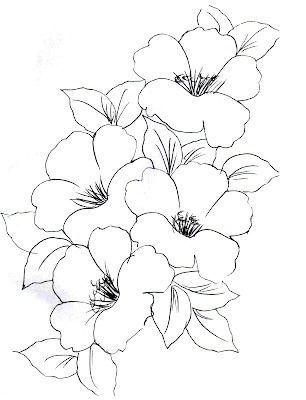 Dibujar Flores Faciles Pintar En Tela Como Dibujar Cosas Dibujos