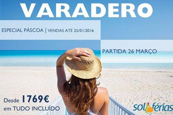 Especial Páscoa em Varadero desde 1769! #solferias #Cuba #varadero by solferias_operadorturistico