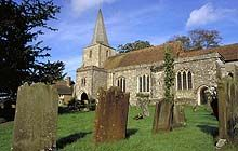 """Pluckley, Kent - According to the Guinness Book of Records, it is the most haunted village in England and is host to several ghosts including the """"weeping wanderer"""", a schoolmaster, a soldier, a highwayman and others."""