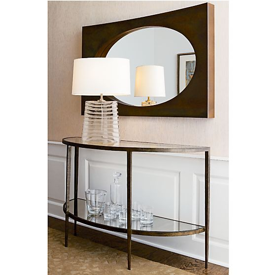 Foyer Table Crate And Barrel : Glass tables storage crates and entry hall on pinterest