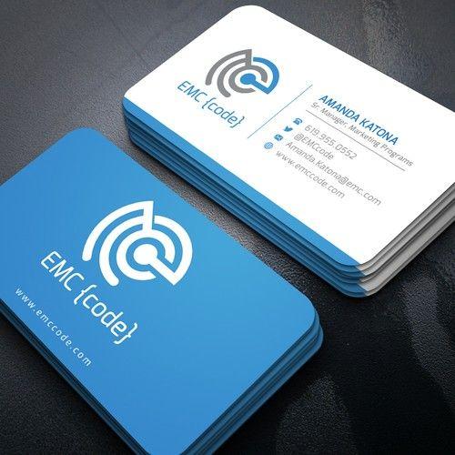 Help Create A Unique Business Card Business Card Contest Design Business Card Code Unique Business Cards Business Card Graphic Modern Business Cards