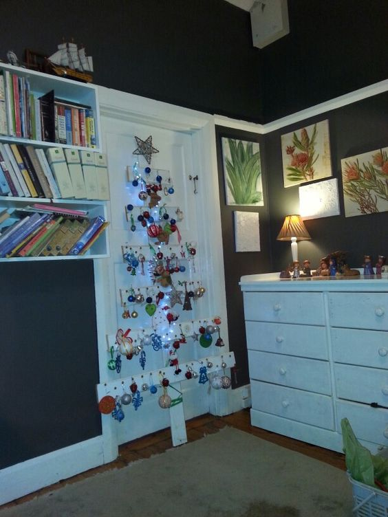 Our tree from recycled planks