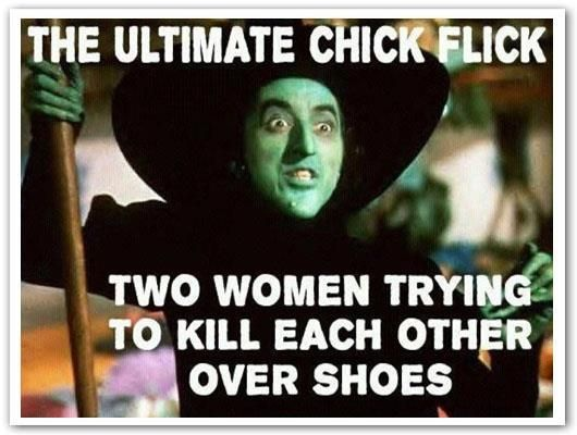 Everybody wants a pair of ruby slippers!