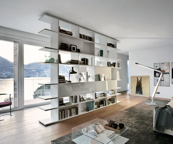 The Set System Bookcase is Italian designed and is exclusive to King Furniture, take a look here now.
