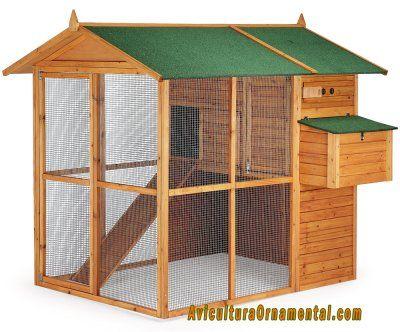Jaulas grandes para aves caseras buscar con google for Antorchas para jardin caseras
