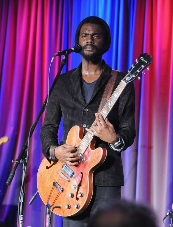 """The blues is serious business. Gary Clark Jr. """"Ain't Messin 'Round"""" during his performance at the GRAMMY Museum�and Recording Academy Los Angeles Chapter's�An Evening With Gary Clark Jr. event on Sept. 30 in Los Angeles"""
