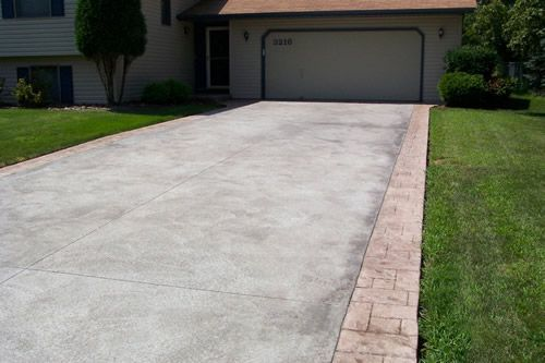 Driveways google and search on pinterest for Driveway addition ideas