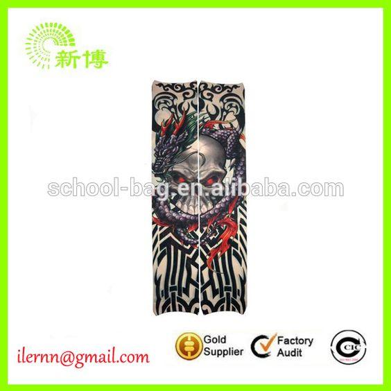 custom sublimation Mesh Fabric Sleeve Tattoo