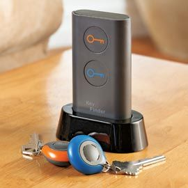Key Finder!  Find lost keys with the push of a button! umm i need thisss