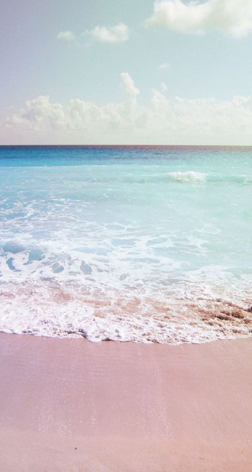Pink Sand Beach Lockscreen Colorphotography Color Photography