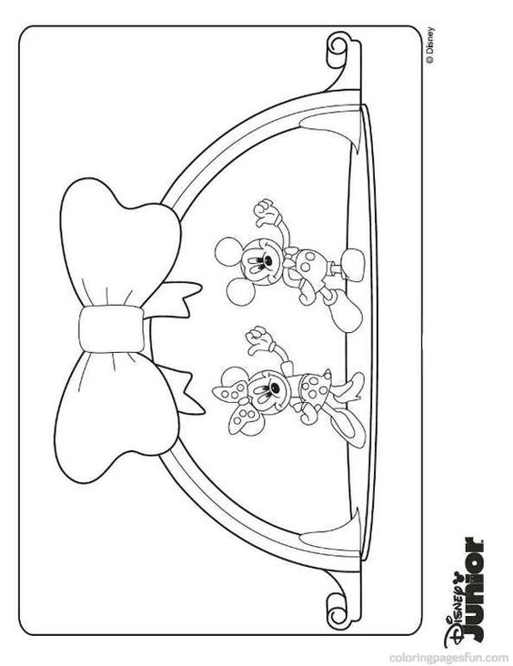 Mickey Mouse Clubhouse Coloring Pages 8 | birthdays ...