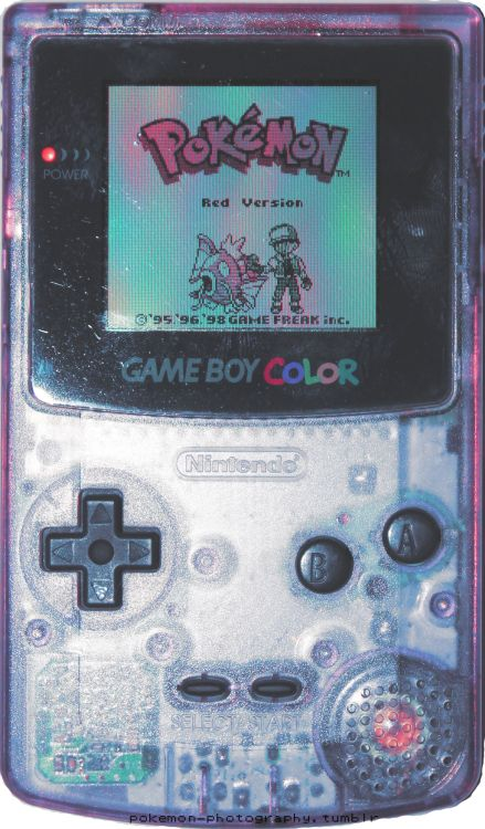 pokemon-photography: Transparent gameboy Style lovers #fashion #style #love #beauty #instagood #amazing