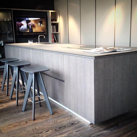 today's view; artex kitchen from varenna, ics barstools and, Innenarchitektur ideen