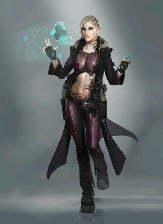 Cyberpunk Hacker - Agent of the Nords