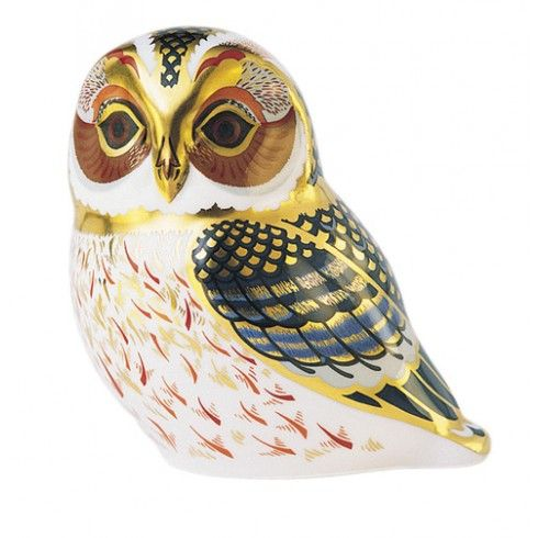 Royal Crown Derby TAWNY OWL:
