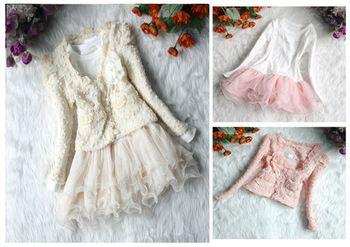 #AliExpress #Children'sClothing Girls cardigan and tutu dress. Find more detail on DealsAlbum.com.