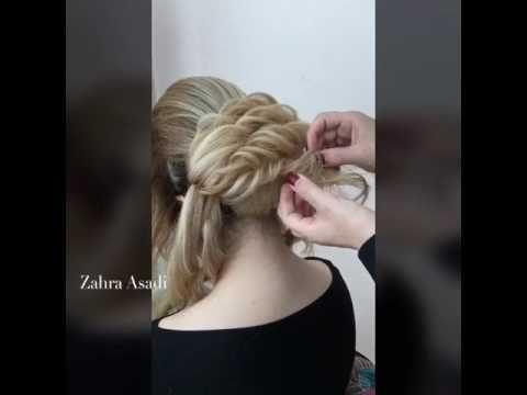 Zahraasady Style Youtube Long Hair Wedding Styles Hair Style Vedio Ballroom Hair
