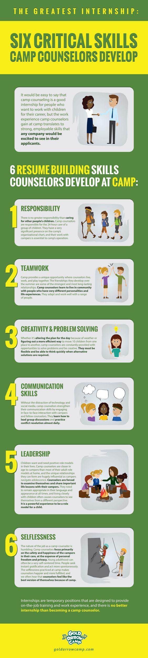 6 Critical Skills infographic
