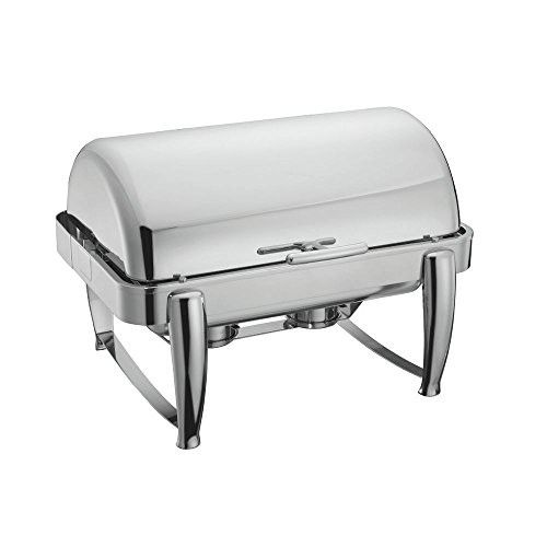Stainless Steel 9 5 Qt Roll Top Chafer Chafing Dish Chafing